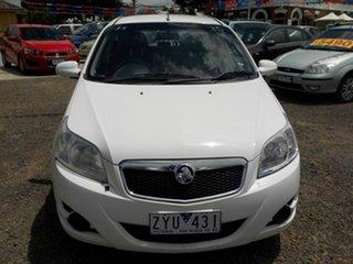 2009 Holden Barina TK MY09 White 4 Speed Automatic Hatchback.