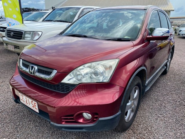 Used Honda CR-V RE MY2007 Sport 4WD Berrimah, 2007 Honda CR-V RE MY2007 Sport 4WD Maroon 6 Speed Manual Wagon