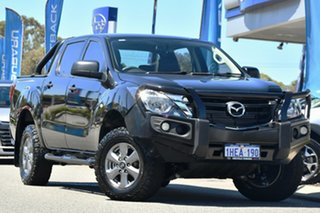 2018 Mazda BT-50 UR0YG1 XT Black 6 Speed Manual Utility.