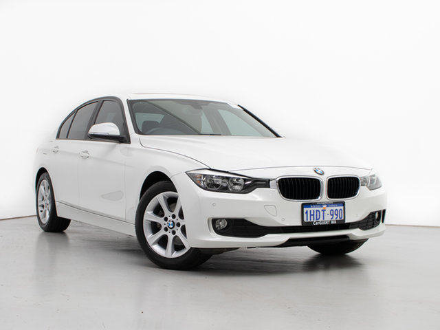 Used BMW 320d F30 MY14 Luxury Line, 2014 BMW 320d F30 MY14 Luxury Line White 8 Speed Automatic Sedan