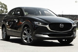 2020 Mazda CX-30 DM4WLA G25 SKYACTIV-Drive i-ACTIV AWD Astina Black 6 Speed Sports Automatic Wagon.