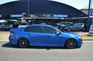2012 FPV F6 FG MY11 Blue 6 Speed Auto Seq Sportshift Sedan.