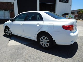 2008 Toyota Corolla ZRE152R Ascent White 4 Speed Automatic Sedan
