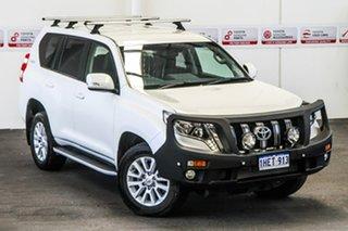 2015 Toyota Landcruiser Prado GDJ150R MY16 VX (4x4) Crystal Pearl 6 Speed Automatic Wagon.