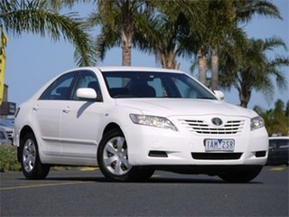 2006 Toyota Camry ACV36R 06 Upgrade Altise Limited White 4 Speed Automatic Sedan.