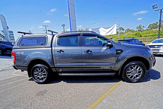 2017 Ford Ranger PX MkII 2018.00MY FX4 Double Cab Grey 6 Speed Sports Automatic Utility