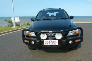 2008 Kia Sorento BL MY08 LX Black 5 Speed Manual Wagon