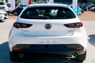 2020 Mazda 3 BP2H7A G20 SKYACTIV-Drive Evolve White 6 Speed Sports Automatic Hatchback