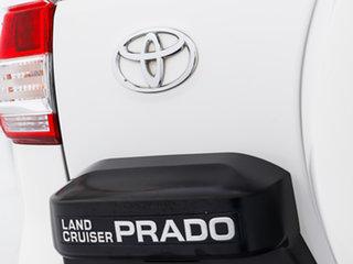 2015 Toyota Landcruiser Prado GDJ150R MY16 GXL (4x4) White 6 Speed Automatic Wagon