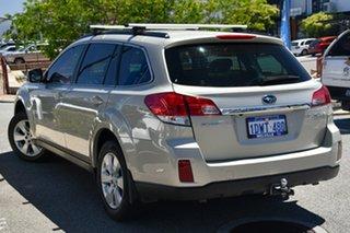 2012 Subaru Outback B5A MY12 3.6R AWD Premium Sunlight Gold Opal 5 Speed Sports Automatic Wagon.