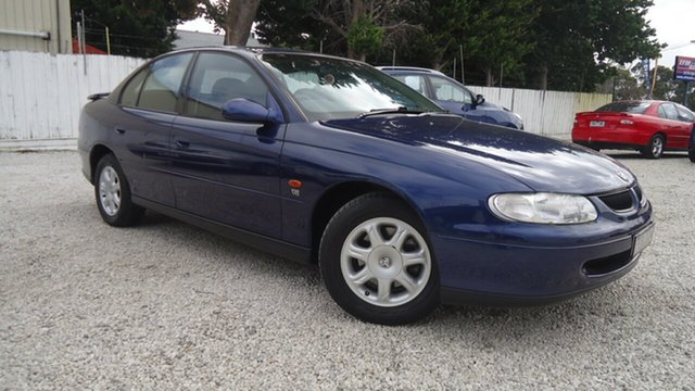 Used Holden Commodore VT Executive Seaford, 1999 Holden Commodore VT Executive Blue 4 Speed Automatic Sedan