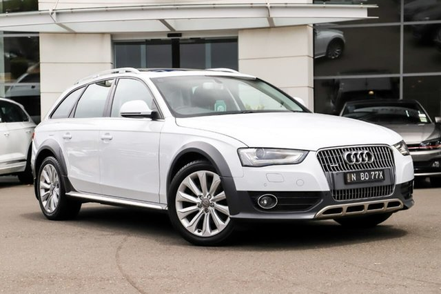 Used Audi A4 B8 8K MY13 Allroad S Tronic Quattro Sutherland, 2013 Audi A4 B8 8K MY13 Allroad S Tronic Quattro White 7 Speed Sports Automatic Dual Clutch Wagon