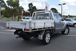 2016 Mazda BT-50 UR0YG1 XT Freestyle 4x2 Hi-Rider Billet Silver 6 Speed Manual Cab Chassis