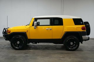 2016 Toyota FJ Cruiser GSJ15R MY14 Yellow 5 Speed Automatic Wagon