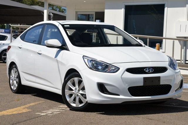 Used Hyundai Accent RB6 MY19 Sport North Gosford, 2018 Hyundai Accent RB6 MY19 Sport White 6 Speed Sports Automatic Sedan