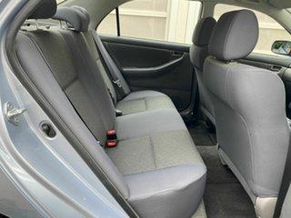 2005 Toyota Corolla ZZE122R 5Y Ascent Blue 4 Speed Automatic Sedan