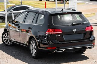 2020 Volkswagen Golf 7.5 MY20 110TSI DSG Highline Black 7 Speed Sports Automatic Dual Clutch Wagon