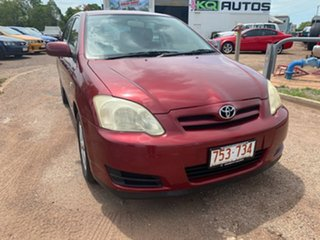 2006 Toyota Corolla ZZE122R 5Y Ascent Maroon 4 Speed Automatic Hatchback.
