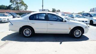 2001 Ford Fairmont AU II White 4 Speed Automatic Sedan