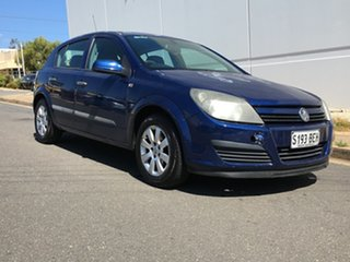 2004 Holden Astra AH CD Blue 4 Speed Automatic Hatchback.