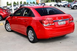 2011 Holden Cruze JH Series II MY11 CD Red 6 Speed Manual Sedan.