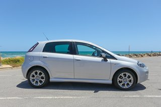 2013 Fiat Punto MY13 Lounge Dualogic Silver 5 Speed Sports Automatic Single Clutch Hatchback