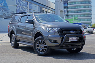 2017 Ford Ranger PX MkII 2018.00MY FX4 Double Cab Grey 6 Speed Sports Automatic Utility.