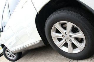2013 Toyota Kluger GSU40R MY13 Upgrade KX-R (FWD) 7 Seat Crystal Pearl 5 Speed Automatic Wagon.