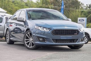 2016 Ford Falcon FG X XR6 Turbo Blue 6 Speed Sports Automatic Sedan.