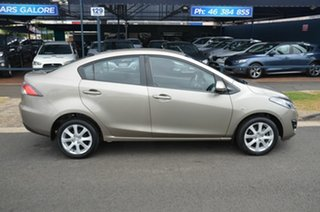 2010 Mazda 2 DE MY10 Maxx Gold 4 Speed Automatic Sedan.