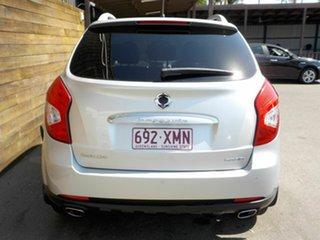 2015 Ssangyong Korando C200 MY15 SX 2WD Silver 6 Speed Automatic Wagon
