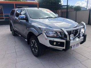 2016 Mazda BT-50 UR0YG1 XTR Silver 6 Speed Manual Utility.