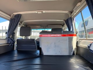 2017 Toyota Landcruiser Workmate Troopcarrier White 5 Speed Manual Motor Camper