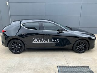 2020 Mazda 3 BP2HHA X20 SKYACTIV-Drive Astina Jet Black 6 Speed Sports Automatic Hatchback.