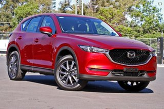 2020 Mazda CX-5 KF4WLA Akera SKYACTIV-Drive i-ACTIV AWD Red 6 Speed Sports Automatic Wagon.