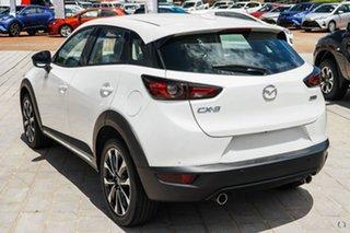 2020 Mazda CX-3 DK2W7A Akari SKYACTIV-Drive FWD White 6 Speed Sports Automatic Wagon