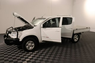 2016 Holden Colorado RG MY16 LS Crew Cab White 6 speed Automatic Cab Chassis