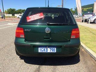 2002 Volkswagen Golf 1.6 S Green 5 Speed Manual Hatchback