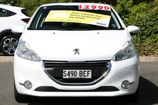 2014 Peugeot 208 A9 MY14 Allure Bianca White 4 Speed Automatic Hatchback