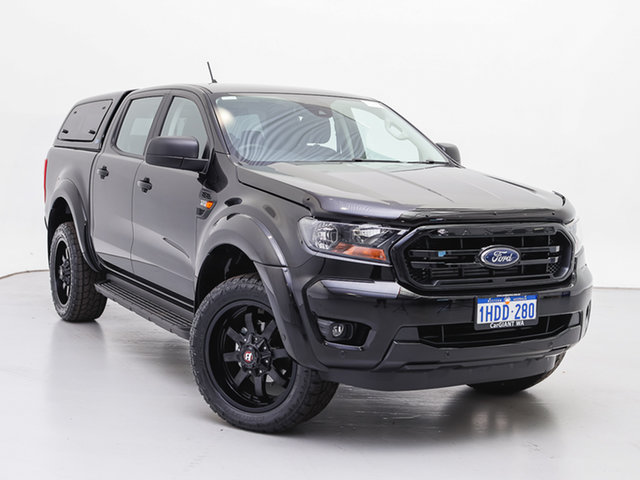 Used Ford Ranger PX MkIII MY20.75 Sport 3.2 (4x4), 2020 Ford Ranger PX MkIII MY20.75 Sport 3.2 (4x4) Black 6 Speed Automatic Double Cab Pick Up