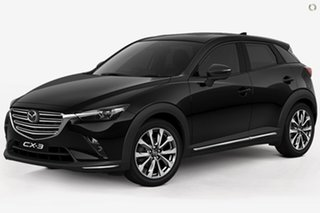 2020 Mazda CX-3 DK2W7A Akari SKYACTIV-Drive FWD LE Black 6 Speed Sports Automatic Wagon.