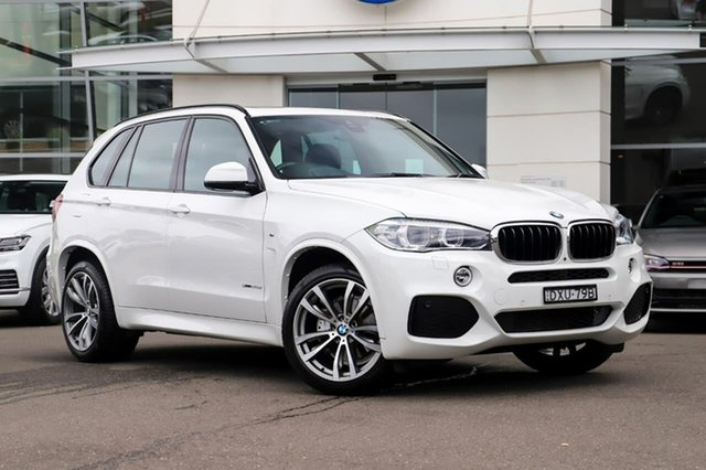 Used BMW X5 F15 sDrive25d Sutherland, 2018 BMW X5 F15 sDrive25d White 8 Speed Automatic Wagon