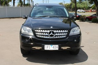 2006 Mercedes-Benz ML350 W164 Luxury (4x4) Black 7 Speed Automatic G-Tronic Wagon.