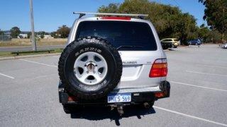 2002 Toyota Landcruiser FZJ105R GXL Silver 5 Speed Manual Wagon