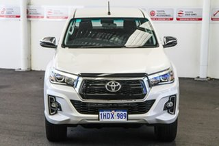 2018 Toyota Hilux GUN126R MY19 SR5 (4x4) Crystal Pearl 6 Speed Automatic Double Cab Pick Up