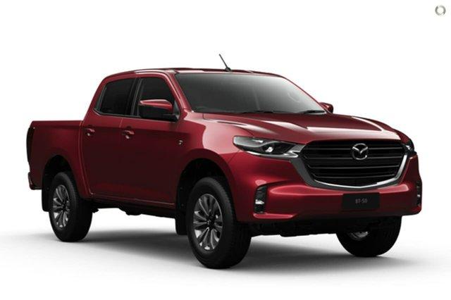 New Mazda BT-50 TFS40J XT Waitara, 2020 Mazda BT-50 TFS40J XT Red 6 Speed Manual Utility
