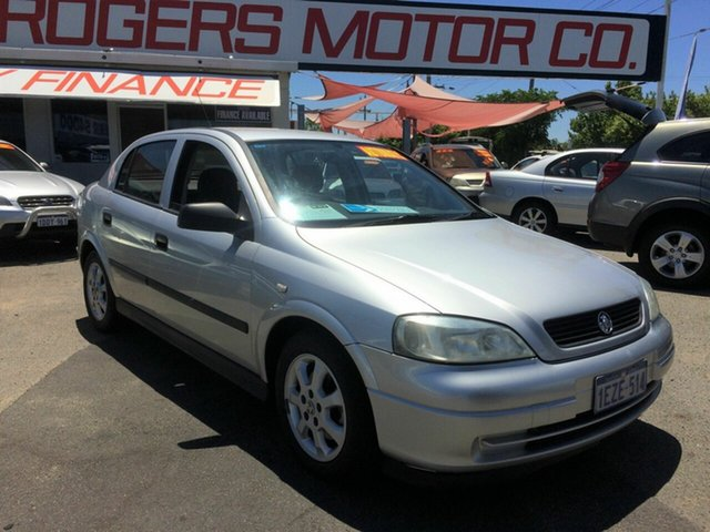 Used Holden Astra TS Classic Victoria Park, 2005 Holden Astra TS Classic Silver 4 Speed Automatic Hatchback
