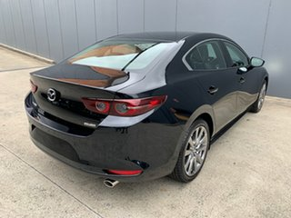 2020 Mazda 3 BP2SLA G25 SKYACTIV-Drive Astina Jet Black 6 Speed Sports Automatic Sedan