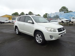 2009 Toyota RAV4 ACA33R MY09 Cruiser White 5 Speed Manual Wagon.