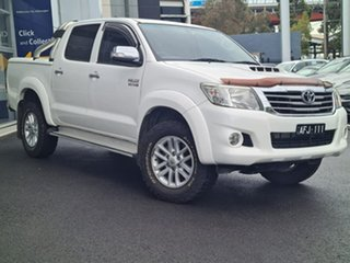 2012 Toyota Hilux SR5 White Automatic Dual Cab.
